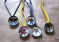 transformer party necklace