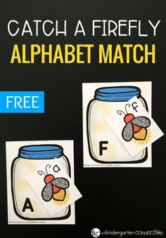 Catch a Firefly Free Summer Alphabet Match Activity Catch a Firefly Alphabet Match Game! Such a fun way to work on the alphabet this summer with your kindergartners or preschoolers! Preschool Literacy, Preschool Printables, Literacy Activities, Teaching Resources, Alphabet Activities Kindergarten, Teaching Abcs, Preschool Themes, Insect Activities, Letter Activities