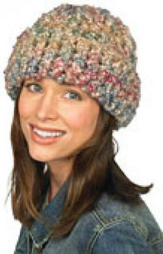 """Beginner Hat for the """"someday"""" of when I learn to crochet."""