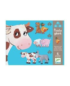 Grote Puzzel Daisy and friends - Djeco