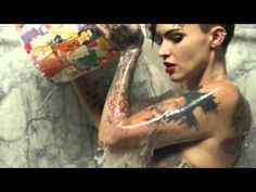 Ruby Rose (Haircut transformation - long to pixie) - YouTube