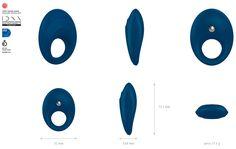 Anillo Vibrador B5 OVO - Comprar anillos vibradores - Vibradores de clitoris #vibradoresdeclitoris #jugueteseroticosparaparejas #estimulaciondeclitoris
