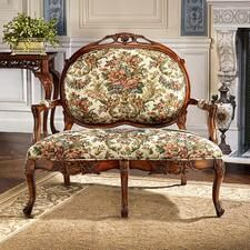 Calcot Manor Medallion Settee Bench$750 Muse Room?