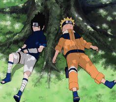 Naruto Vs Sasuke, Naruto Uzumaki Shippuden, Anime Naruto, Naruto Team 7, Naruto Cute, Itachi Uchiha, Hinata, Anime Guys, Manga Anime