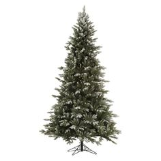 Vickerman Frosted Balsam Fir Christmas Tree - A141675
