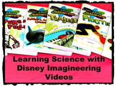 Learning Science with Disney Imagineering Videos - Education Possible - this is really neat, but NOT free