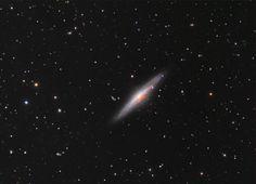 NGC 2683: Spiral Galaxy Edge On