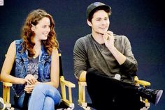 Dylan O'Brien, Kaya Scodelario and at the #MazeRunner Q&A in London