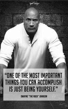 25 Most Inspirational Quotes From Dwayne 'The Rock' Johnson Dj Quotes, Rock Quotes, Life Quotes Love, Famous Quotes, Quotes To Live By, Daily Quotes, Quotes Motivation, Wisdom Quotes, Fitness Motivation