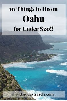 Oahu Hawaii Travel Tips Cheap Things To Do on Oahu Hawaii Oahu Hawaii, Hawaii Vacation, Hawaii Travel, Solo Travel, Travel Usa, Canada Travel, Hawaii Honeymoon, Vacation Ideas, Cheap Travel
