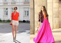 love these color combos for spring/summer