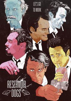 Reservoir Dogs by James Fenwick