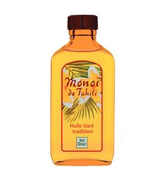 monoi de tahiti oil for hair, face and body - smells like paradise!