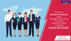 We have a Global Presence with a strategic Network of own and Associate offices Locations. To Know more - https://goo.gl/ClKH9r