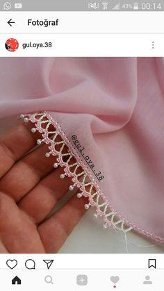 İncili oya sevenlere gelsin Dee arkadaşımın oya modeli ve bi… Dee modelo de punta de aguja de mi amigo y un … – Mi amigo # de a que # Crochet Lace Edging, Crochet Borders, Cotton Crochet, Crochet Trim, Bead Crochet, Crochet Flowers, Knitting Blogs, Knitting Stitches, Knitting Patterns