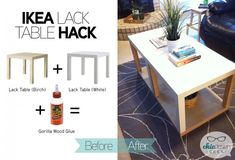 A New Ikea Table with More Storage in 10 Minutes