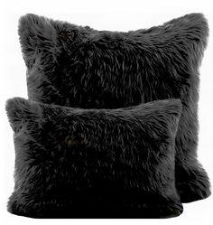 70 Ideas Apartment Bedroom Black Pillows For 2019 Dark Carpet, Beige Carpet, Patterned Carpet, Modern Carpet, Black Pillows, Fluffy Pillows, Bed Pillows, Carpet Decor, Rugs On Carpet