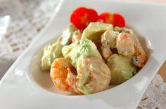 Potato Salad, Shrimp, Potatoes, Meat, Dinner, Ethnic Recipes, Food, Meal, Potato