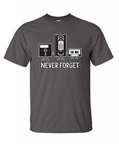 Feelin Good Tees Men's Never Forget Retro T-Shirt Xl Charcoal Feelin Good Tees http://www.amazon.com/dp/B00NMFDE3K/ref=cm_sw_r_pi_dp_xbaivb011T9DZ