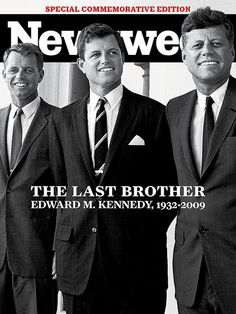 Ted Kennedy Commemorative Issue (Newsweek Cover 9/28)