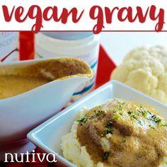 Vegan Gravy kitchen.nutiva.com Nutiva Organic Kitchen Recipes