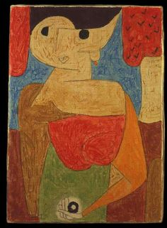 Paul Klee: Omphalo centric lecture, 1939.