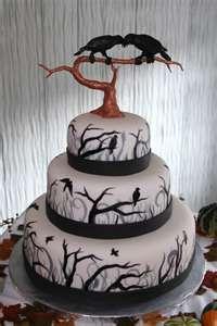 "A ""murder"" of a cake!"