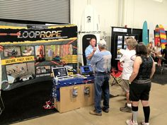 Tower Paddle Boards being featured at Surfboard Show at the Del Mar fairgrounds with Loop Rope