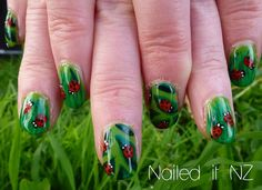 Ladybird nails - times two!