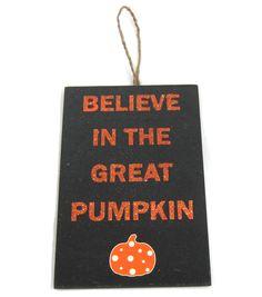 Maker's Halloween Pumpkin Wall Plaque