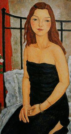 GIRL IN BLACK DRESS, Jian Xi Pang (潘曦; b1971, Wenzhou, China)