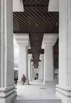 THAD - Architectural Design & Research Institute of Tsinghua University // Yushu Admin Center © YAO Li