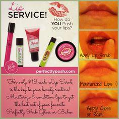 Perfectly Posh Lip Scrub Is Amazing It Moisturizes And Exfoliates Your Lips