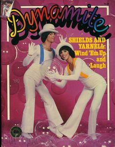 Shields and Yarnell on Dynamite Magazine...oh what memories!!