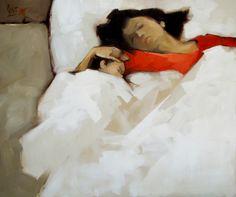 Sleep by Vietnamese Artist Nguyen Thanh Binh
