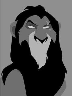 New Ideas Fails Design Disney Lion King Scar Lion King, Lion King Art, Disney Phone Wallpaper, Cartoon Wallpaper, Disney Posters, Disney Cartoons, Disney Magic, Disney Art, Scar Rey Leon