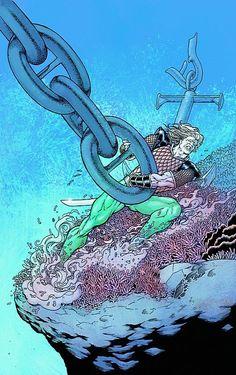 Aquaman by Kevin Maguire Mera Dc Comics, Aquaman Dc Comics, Dark Comics, Dc Comics Heroes, Dc Comics Art, Superhero Characters, Marvel Characters, King Shark, Best Superhero