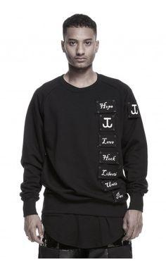 James Hock resistance sweatshirt