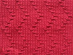 zigzag-chevron-stitches | Knitting Stitch Patterns