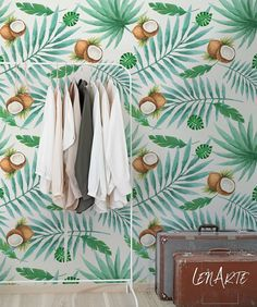 Coco Wallpaper - Removable wallpaper - Wall cover - Mural - Peel and Stick - Self adhesive - Repositionable - Wall decal - 82