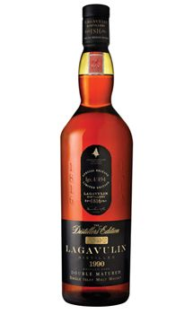 Lagavulin The Distillers Edition Single Malt Scotch Whisky.  Bought mine in Boston for about $110.  It's amazing.