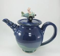 when pigs fly teapot