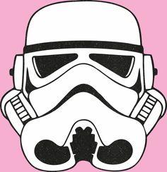 Storm Trooper Head by BowsandBrosKreations on Etsy https://www.etsy.com/listing/278268452/storm-trooper-head
