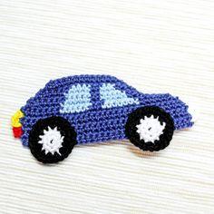 Make a Crocheted Car Applique