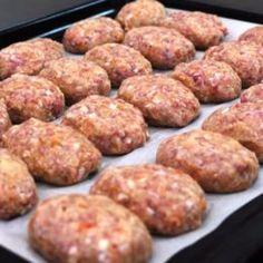 Sausage Rolls, Party Buffet, Food Design, Finger Foods, Carne, Tapas, Brunch, Food And Drink, Low Carb