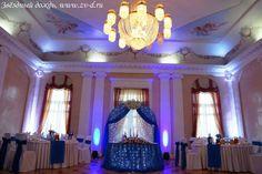 Оформление зала на свадьбу в Питере
