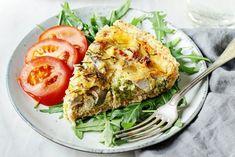 tarta z resztek Spanakopita, Salmon Burgers, Ethnic Recipes, Blog, Diet, Salmon Patties