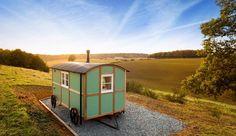 Valley shepherd hut | Wild Woodland Retreat