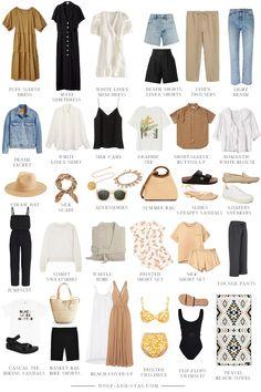 Capsule Outfits, Fashion Capsule, Mode Outfits, Fashion Outfits, Wardrobe Capsule, Fashion Hair, Fashion Tips, Hijab Fashion, Inspiration Mode