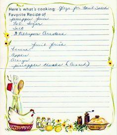 yesterdish.com » Fruit Salad and Glaze